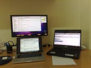 multi-monitor: la mia postazione di lavoro